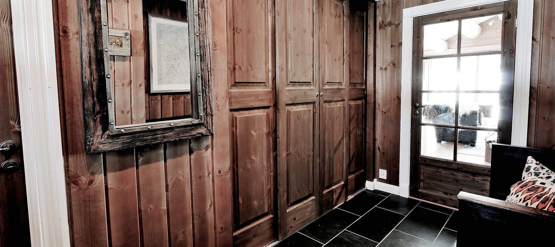 2935 Hytteinteriør fra hytte på Gålå