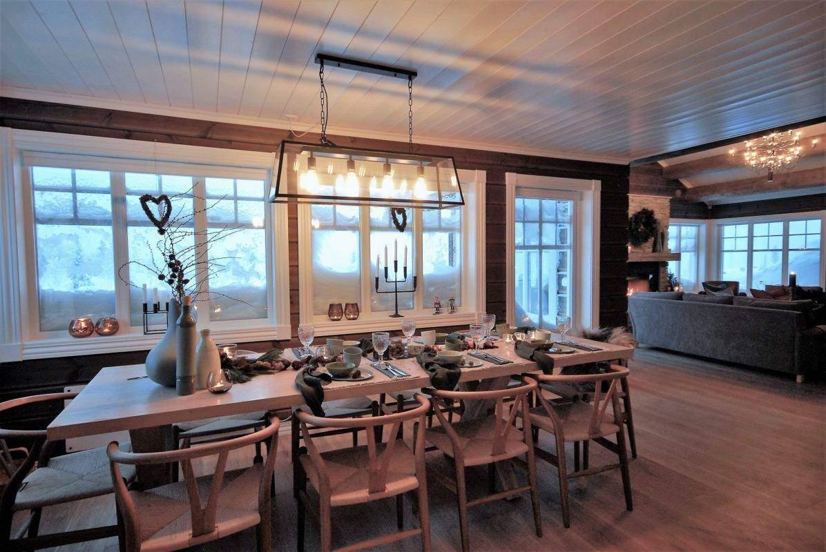 108 Vinterstorm Hytte kos inspirasjon Gålå – Hemsedal 120