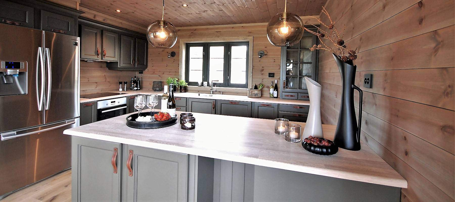 13 Hyttemodell Høgevarde 127, Kjøkkenet