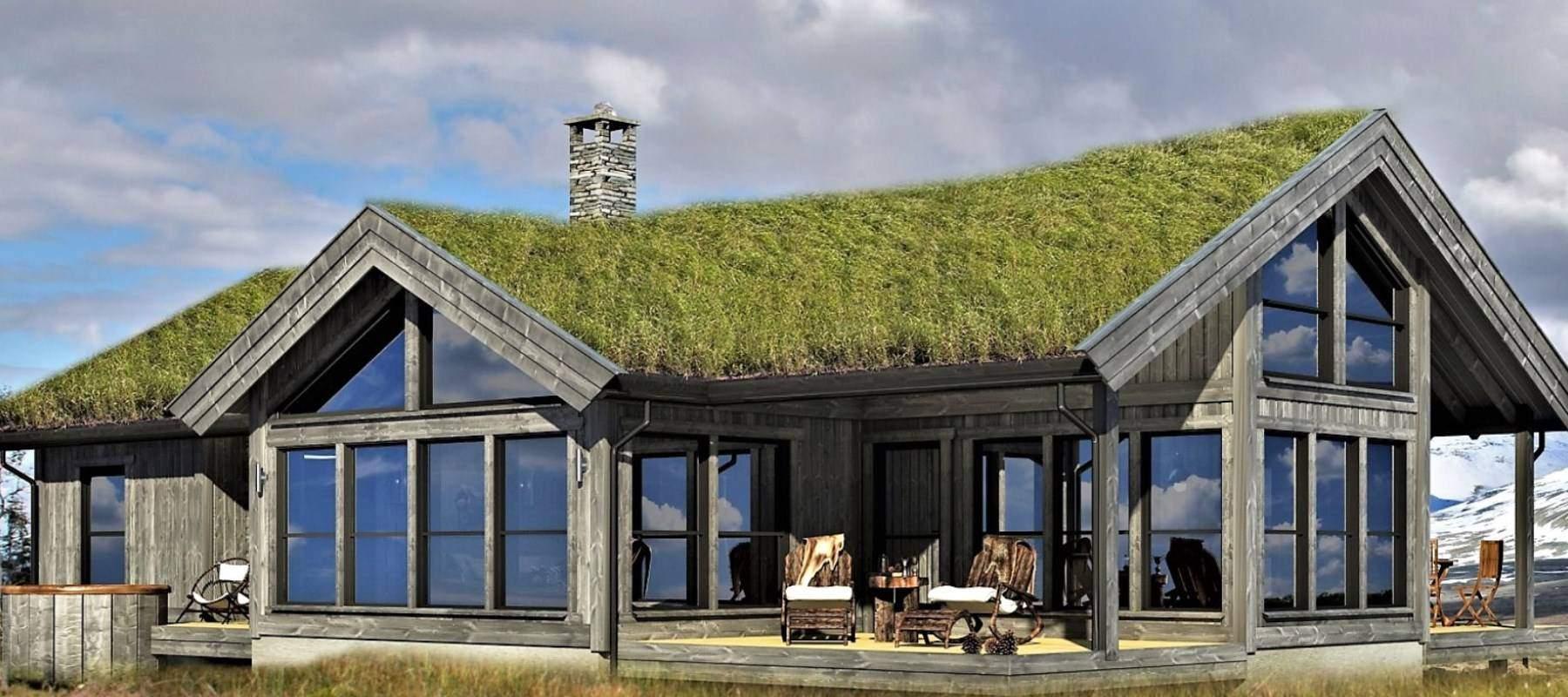 130 Hyttemodell Strynsfjell 120