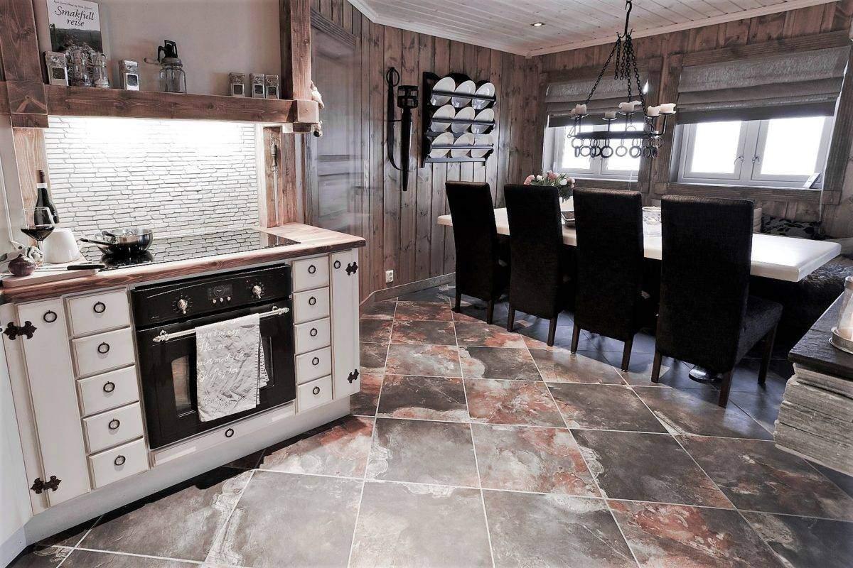 130 Hyttemodell Trysil 110C Kjøkken