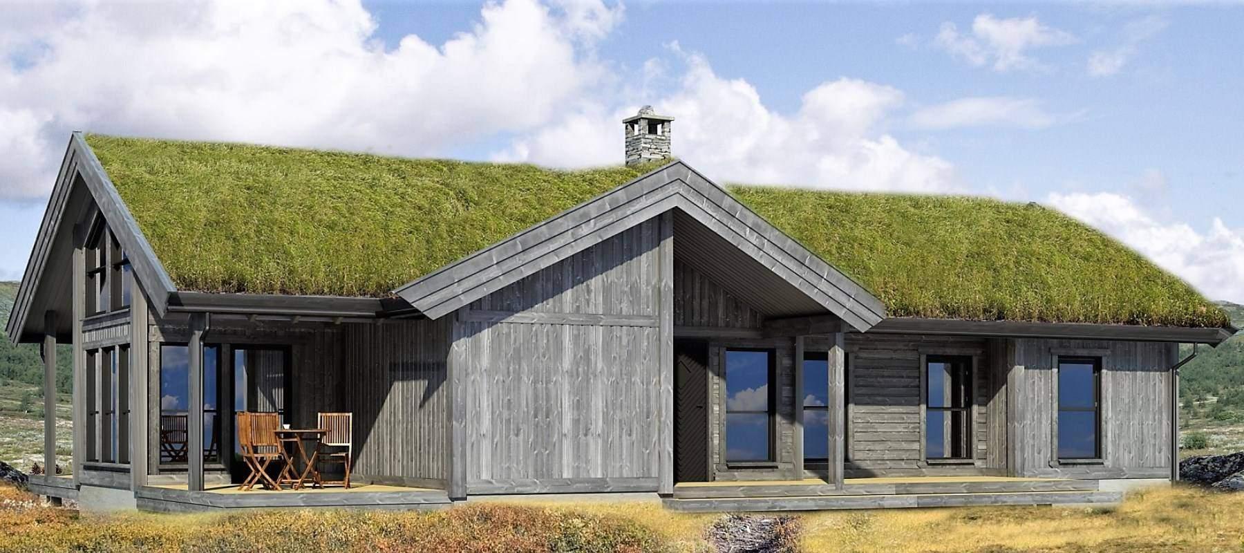 132 Hyttemodell Strynsfjell 120