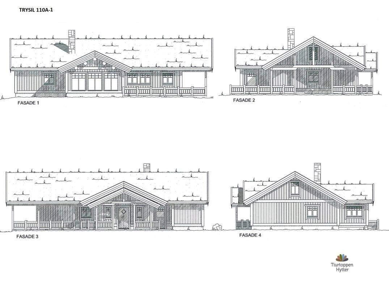 14 Trysil 110A-alt1- Fasader