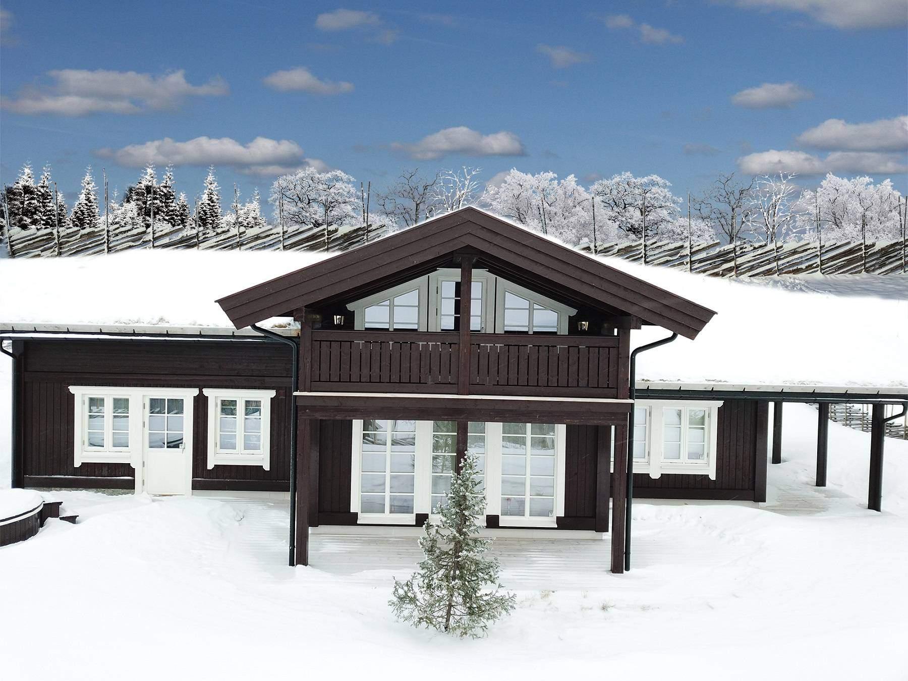 144 Hytte Høyset Panorama – Rondeslottet 95 –