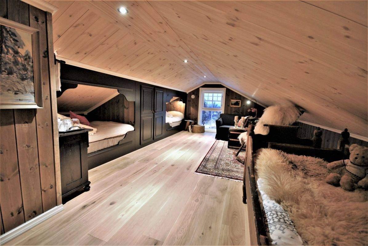 154 Hyttemodell Hytte Hemsedal 120 Soverom på hems