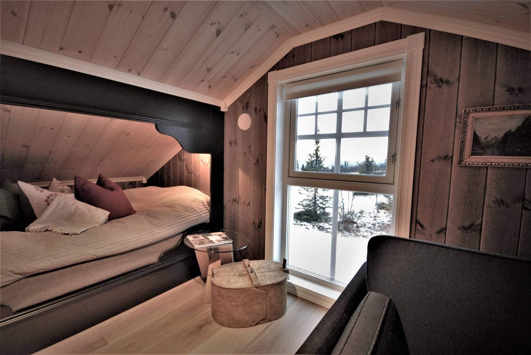 156 Hyttemodell Hytte Hemsedal 120 Soverom på hems