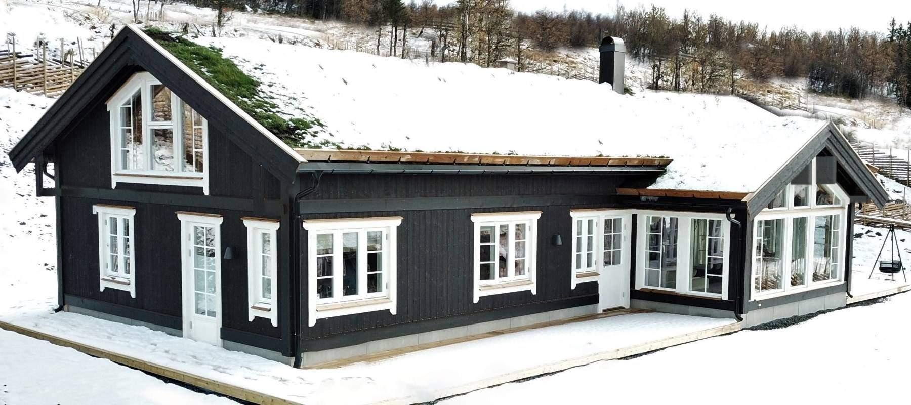 190 Hytteinspirasjon Hytte Strynsfjell 122 på Høyset Panorama Vaset.