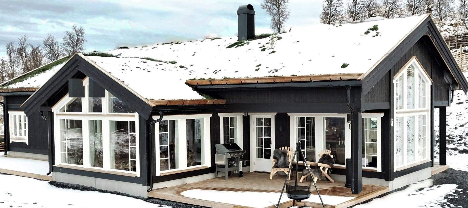 192 Hytteinspirasjon Hytte Strynsfjell 122 på Høyset Panorama Vaset.