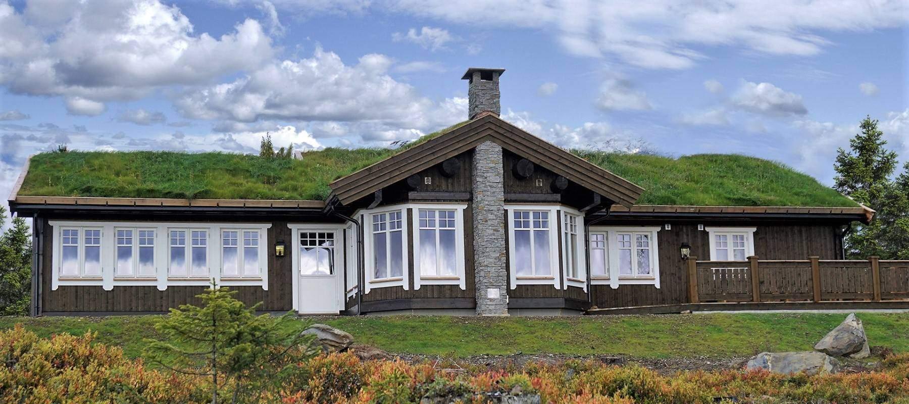 2100 Hytteleverandør Arkitektegnet hytte Hafjell Sollia 132