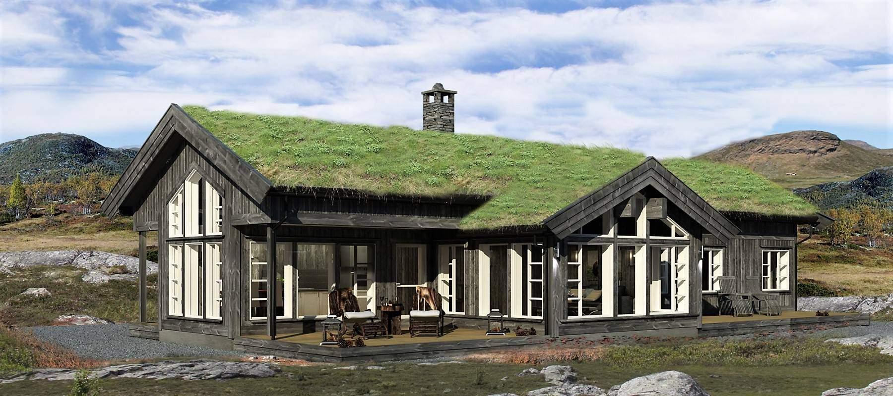 212 Hyttemodell Strynsfjell 120