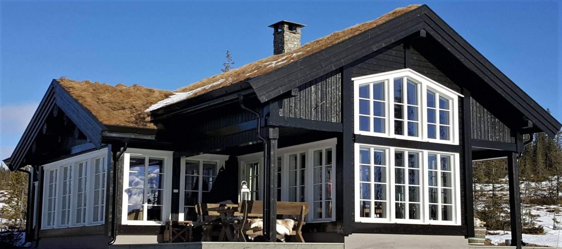 2200 Hytte hytteleverandør Veggli Stryn 92