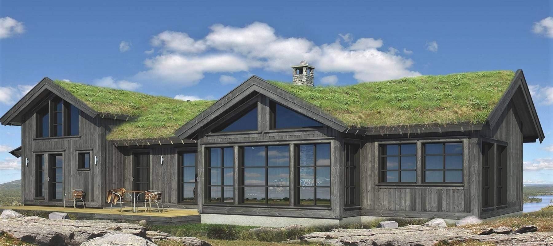 2230 Hytte hytteleverandør Arkitektegnet Geilo 121