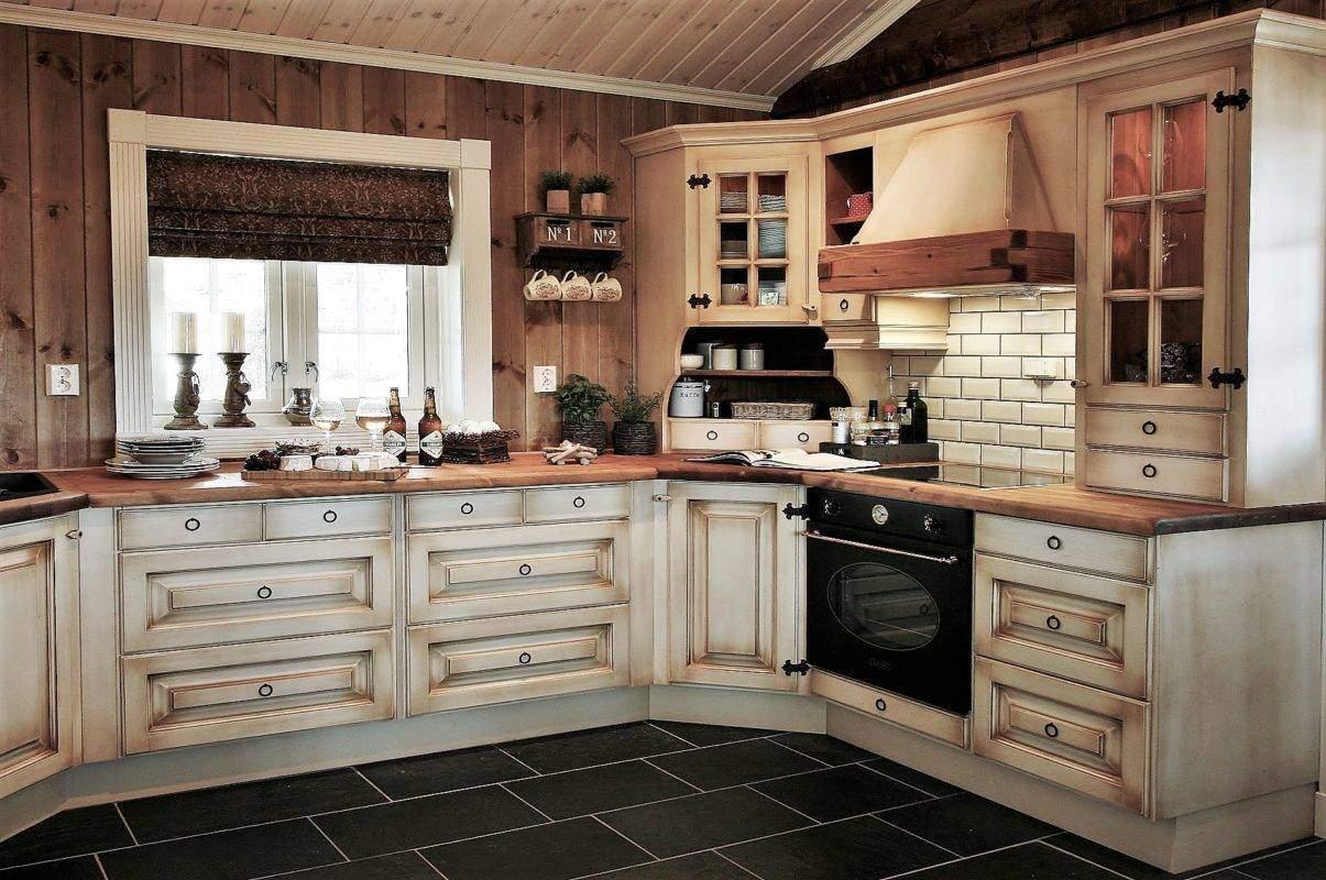 230 Hytteinspirasjon, Hytteinteriør Hafjell 138. Kjøkkenet