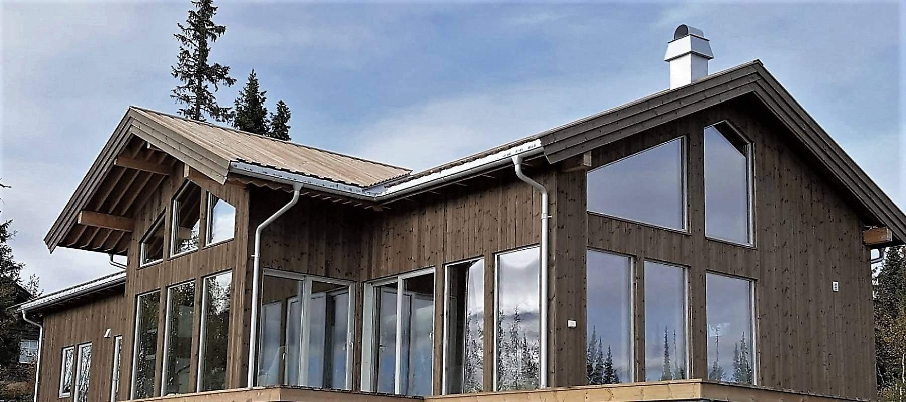 2350 Hytteleverandør Arkitektegnet Hytte på Synnfjell