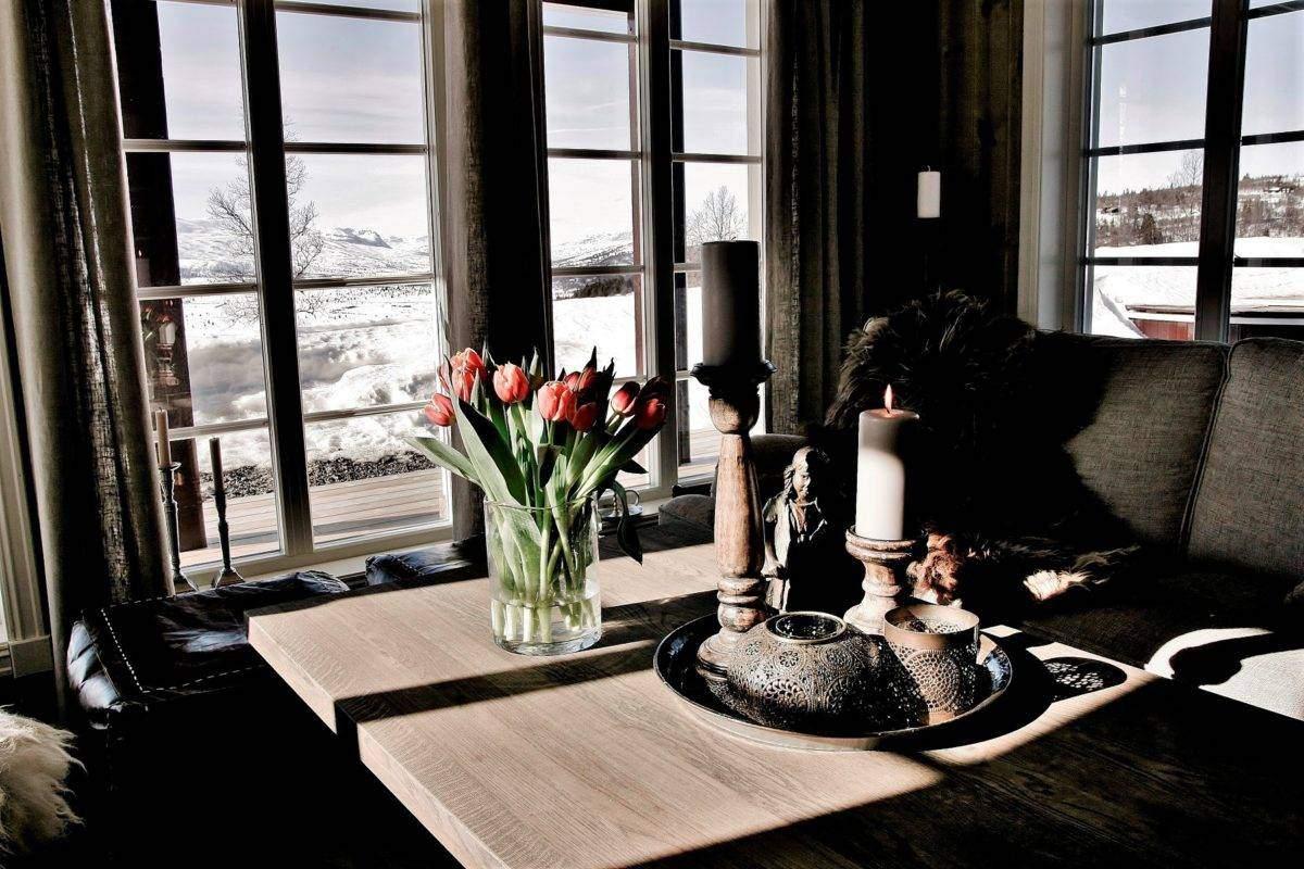 24 Hytte Vaset Rondeslottet 95 – Stue