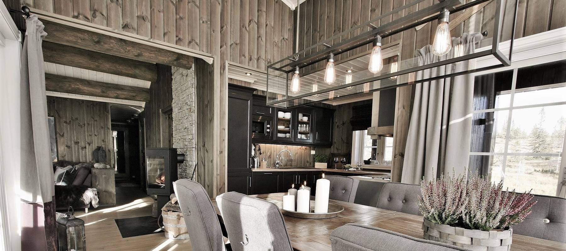 24 Hytteinteriør Inspirasjon Veggli – Stryn 92