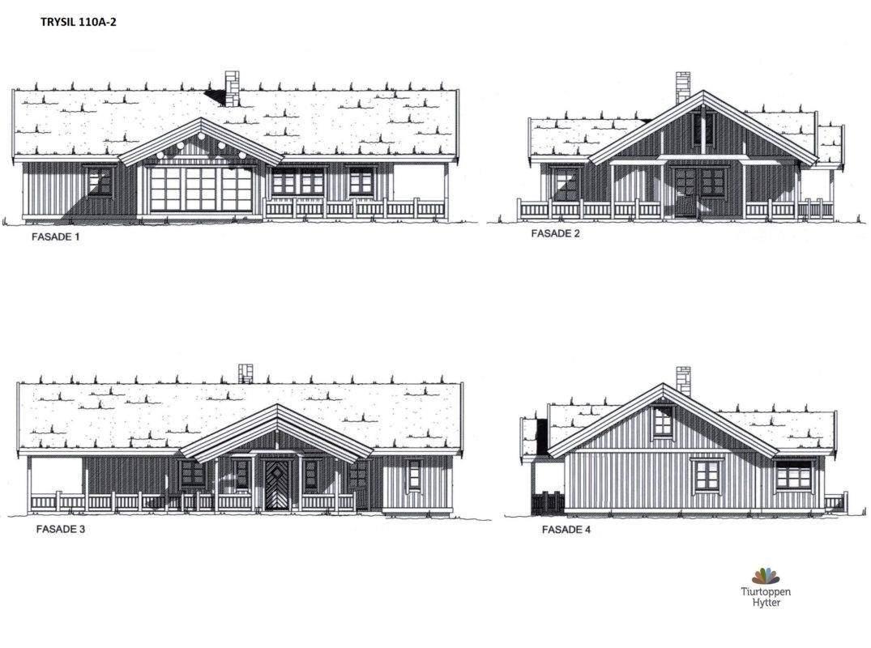 24 Trysil 110A-alt2- Fasader