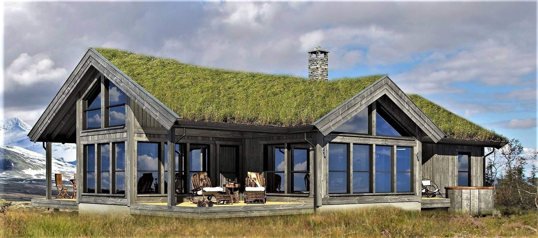 2500 Hytte Arkitektegnet Strynsfjell 120