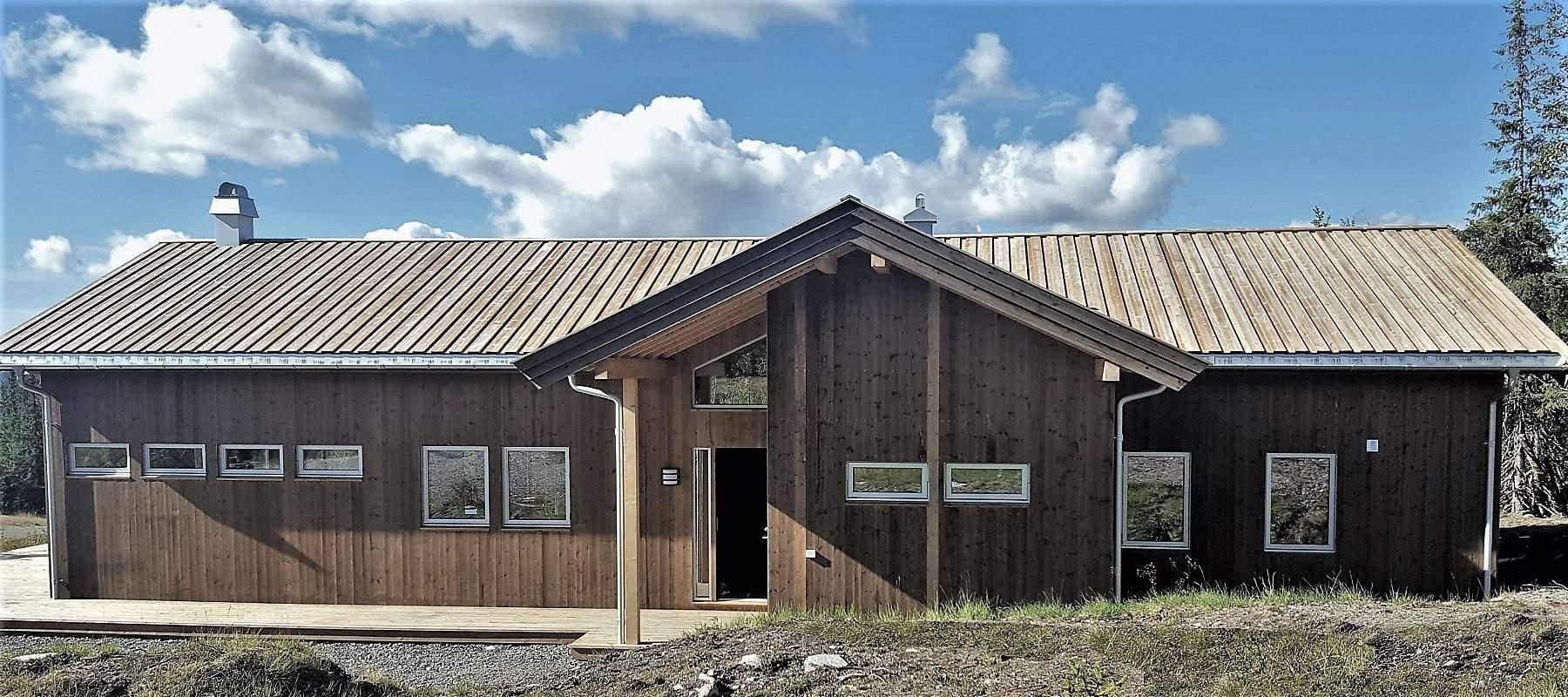2750 Hytte Arkitektegnet hytteleverandør på Synnfjell
