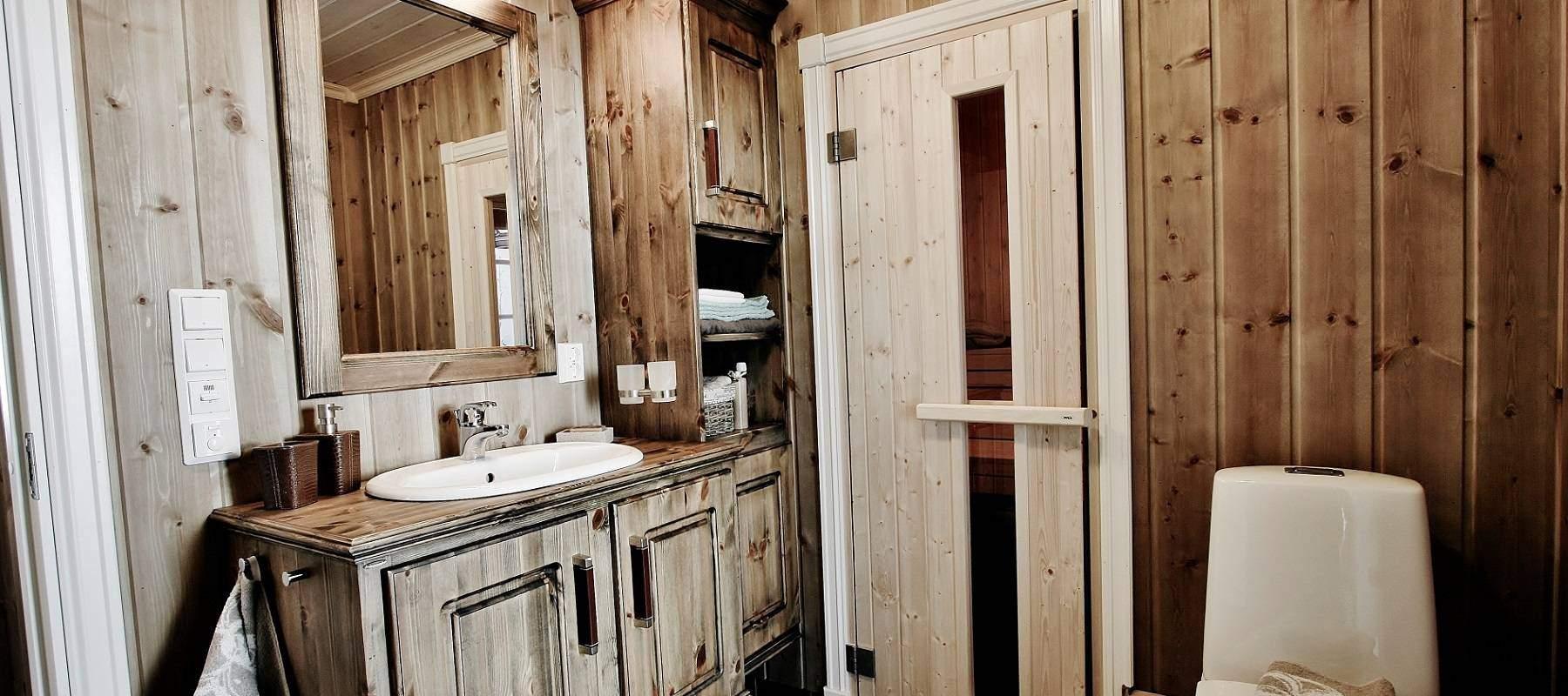 292 Bad i soveromsavdelingen med badstue