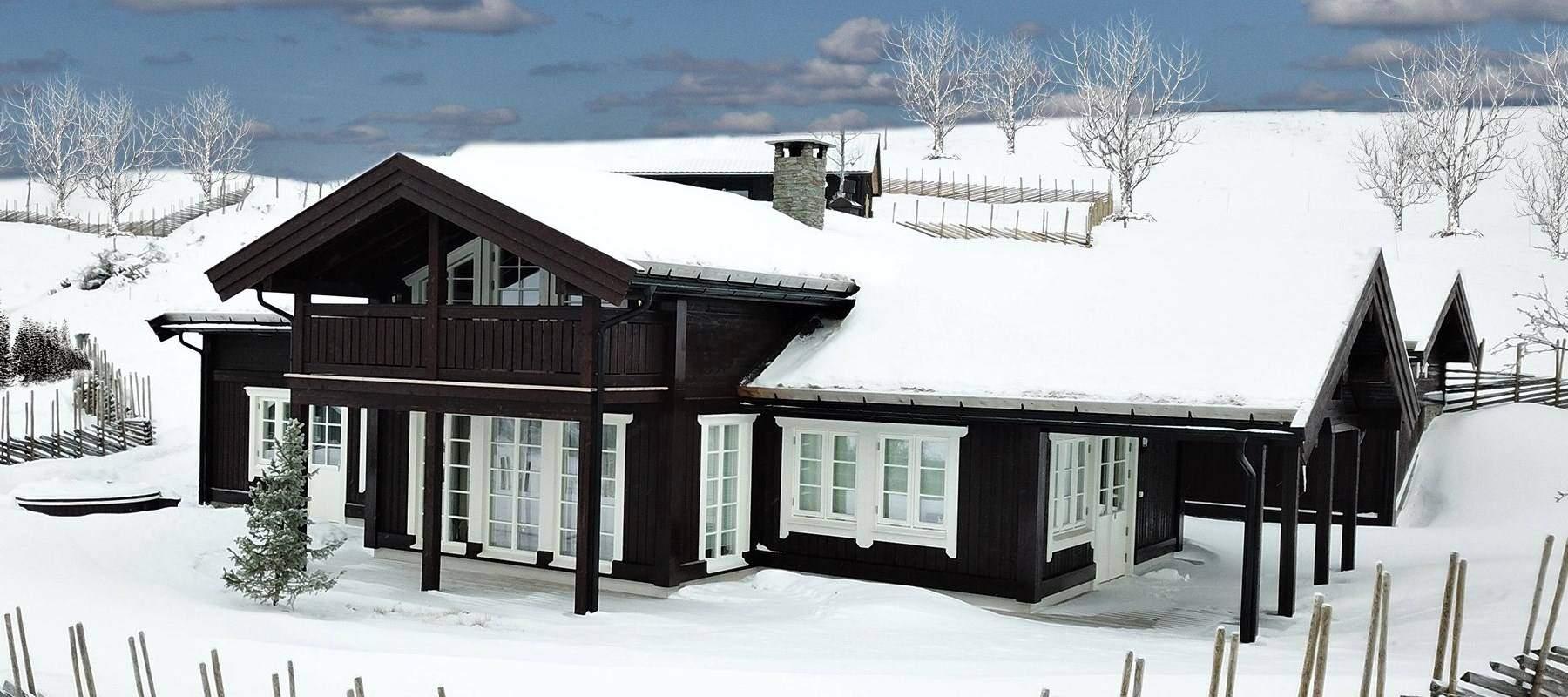 2960 Hytteleverandør Vaset Arkitektegnet hytte Rondeslottet