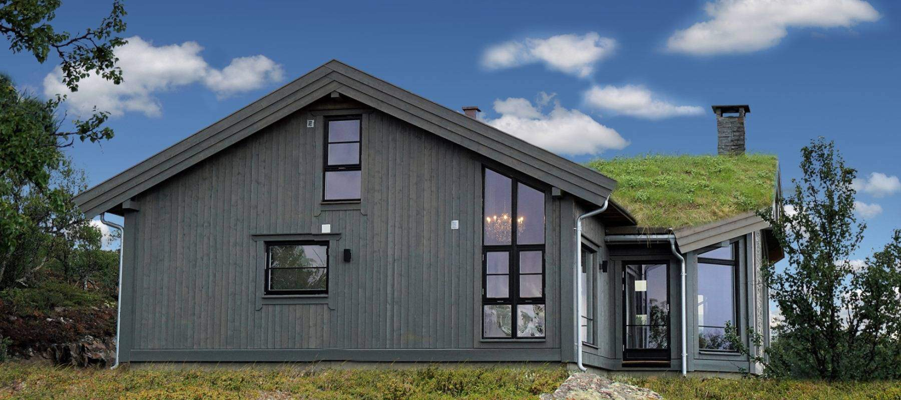 3100 Hytteleverandør Arkitektegnet Hytte Uvdal