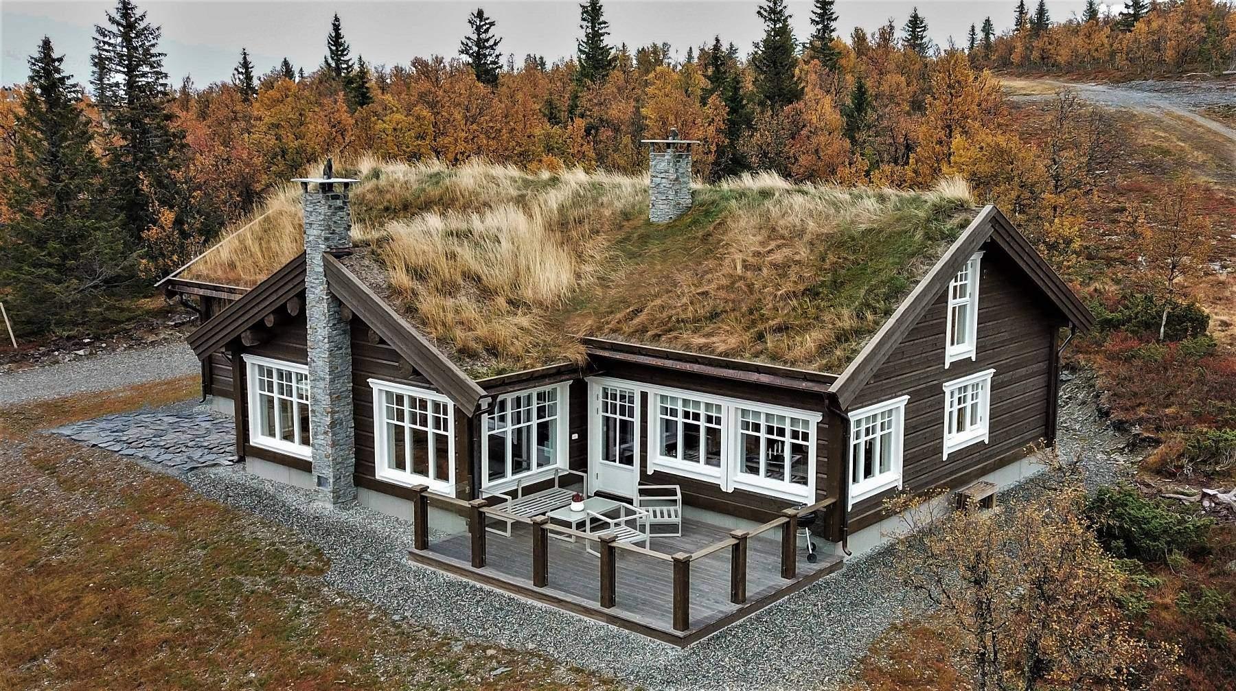 32 Hyttemodell Hytte Hemsedal 120