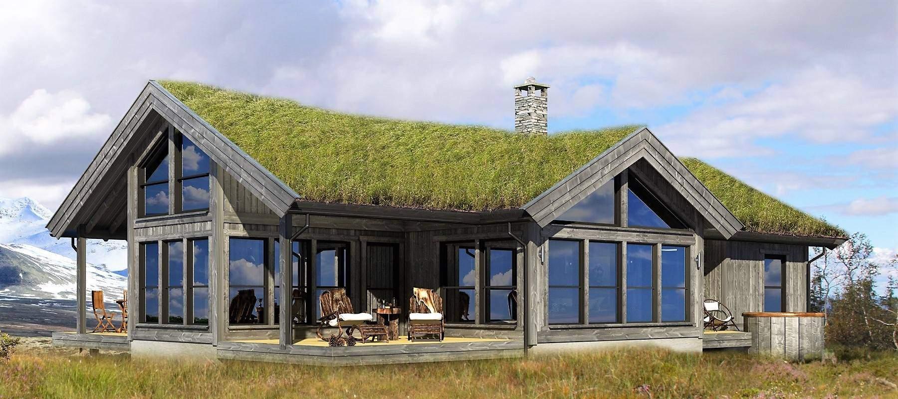 32 Hyttemodell Strynsfjell 120