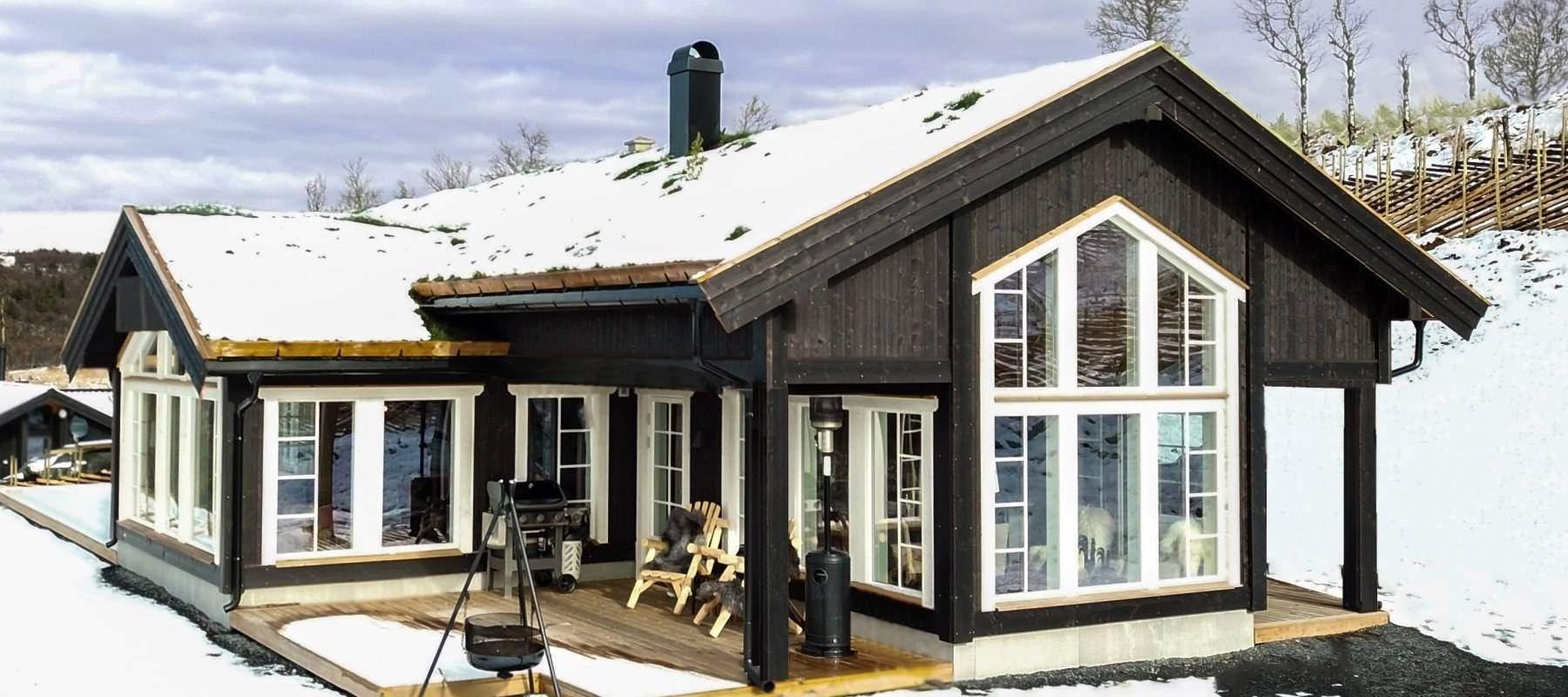 330 Hytteinspirasjon Hytte Strynsfjell 122 på Høyset Panorama Vaset.
