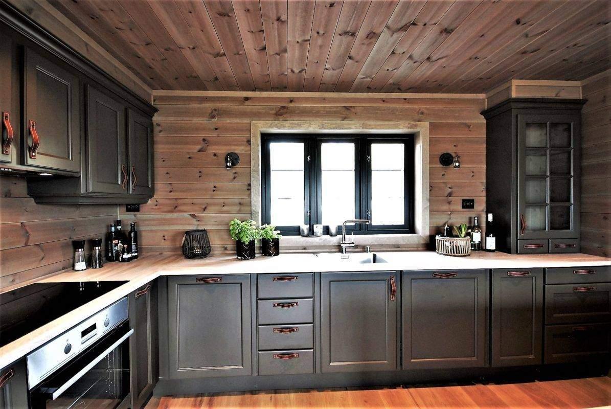 334 Hyttemodell Høgevarde 127. Kjøkken