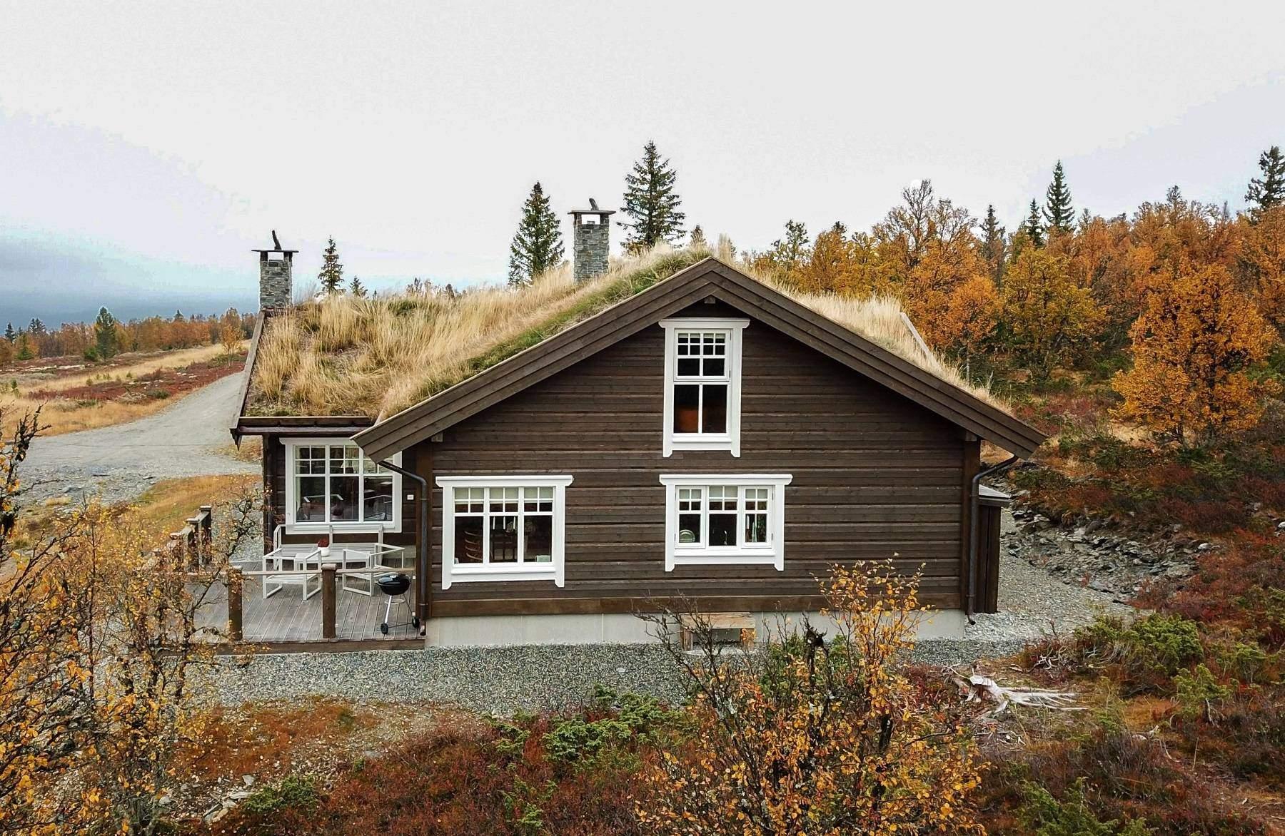34 Hyttemodell Hytte Hemsedal 120