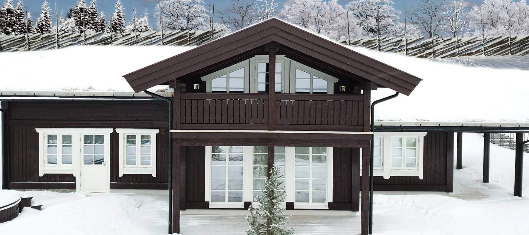 3690 Hytteleverandør Vaset Arkitektegnet hytte Rondeslottet