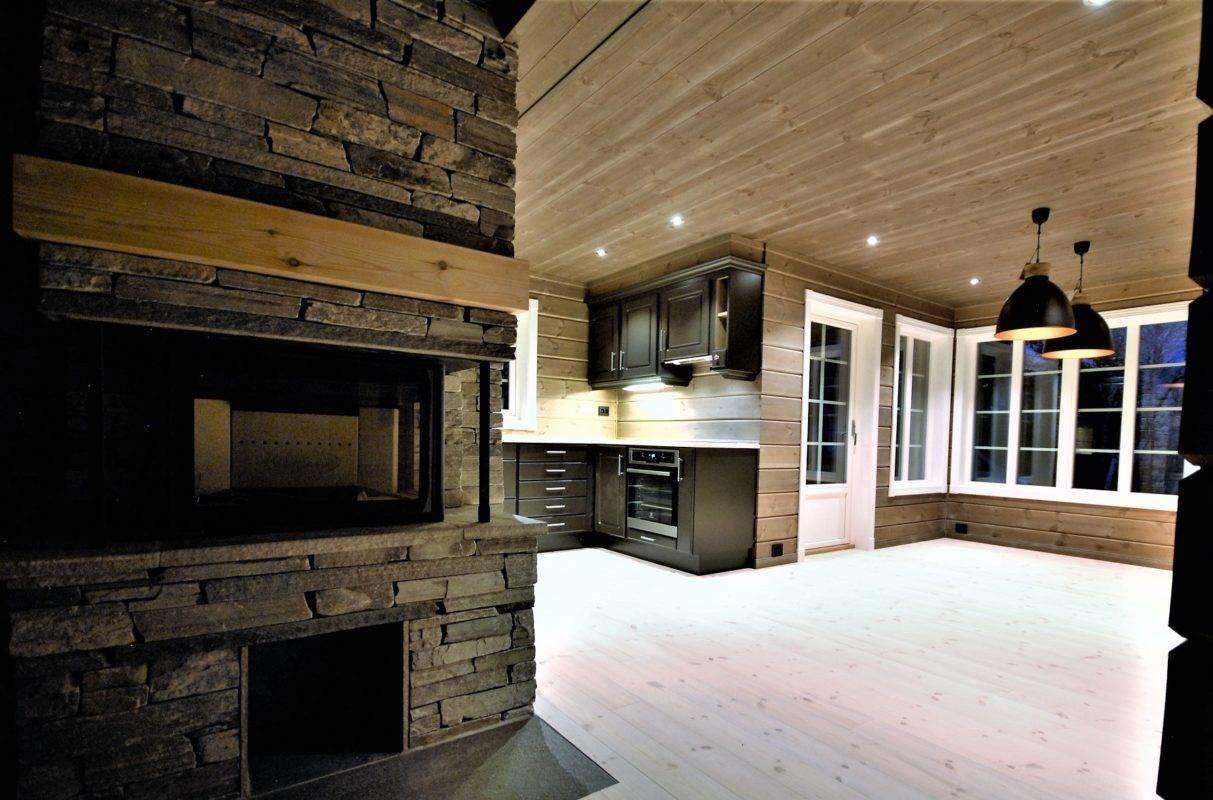 40 Hyttemodell Hytte Stryn 101 Oppdal – kjøkkenet