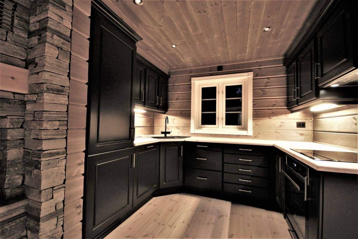 42 Hyttemodell Hytte Stryn 101 Oppdal – Kjøkkenet
