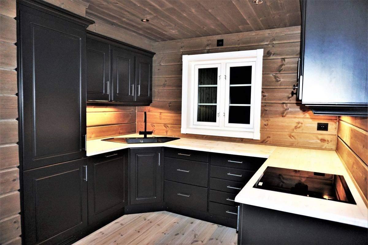 46 Hyttemodell Hytte Stryn 101 Oppdal – Kjøkkenet