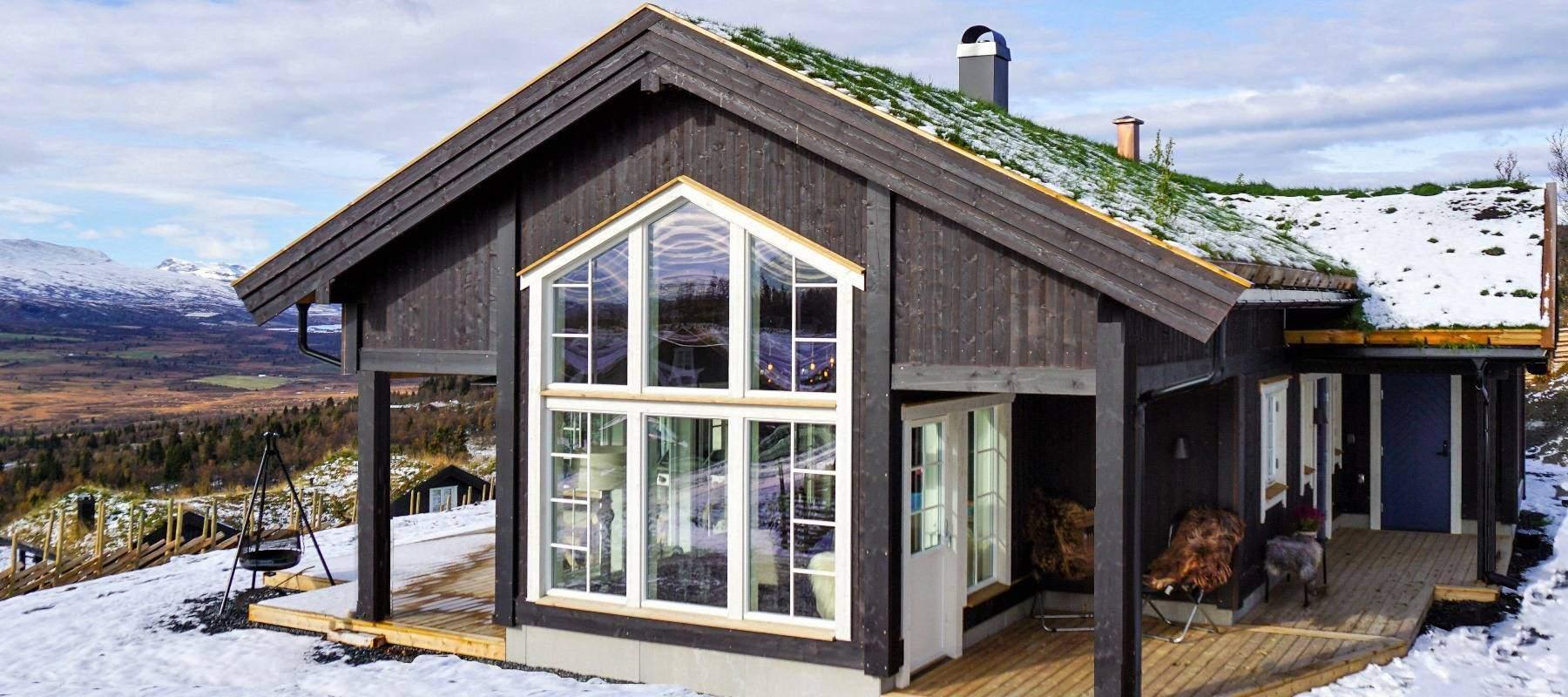 460 Hytteinspirasjon Hytte Strynsfjell 122 på Høyset Panorama Vaset.