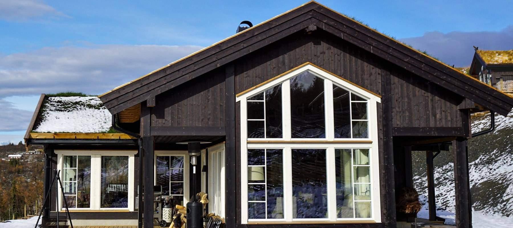 462 Hytteinspirasjon Hytte Strynsfjell 122 på Høyset Panorama Vaset.