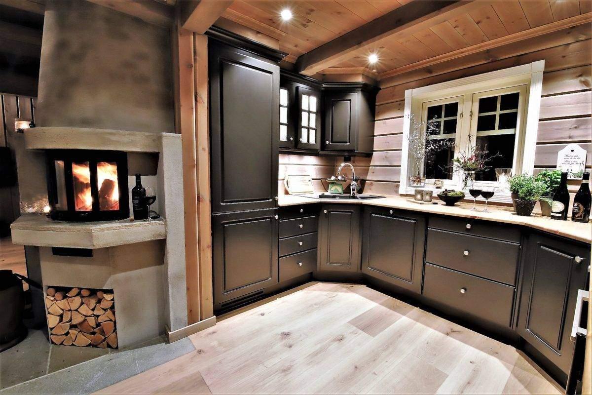 48 Hyttemodell Trysil 110B – Kjøkkenet