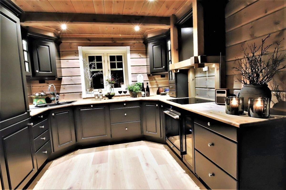 55 Hyttemodell Trysil 110B – Kjøkkenet