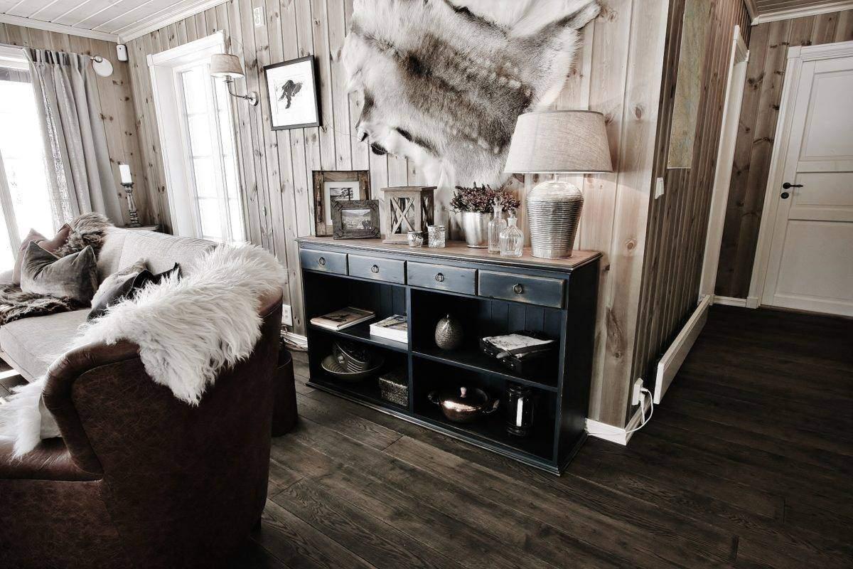 56 Hytte Vaset Rondeslottet 95 – Stue mot soveromsavdeling