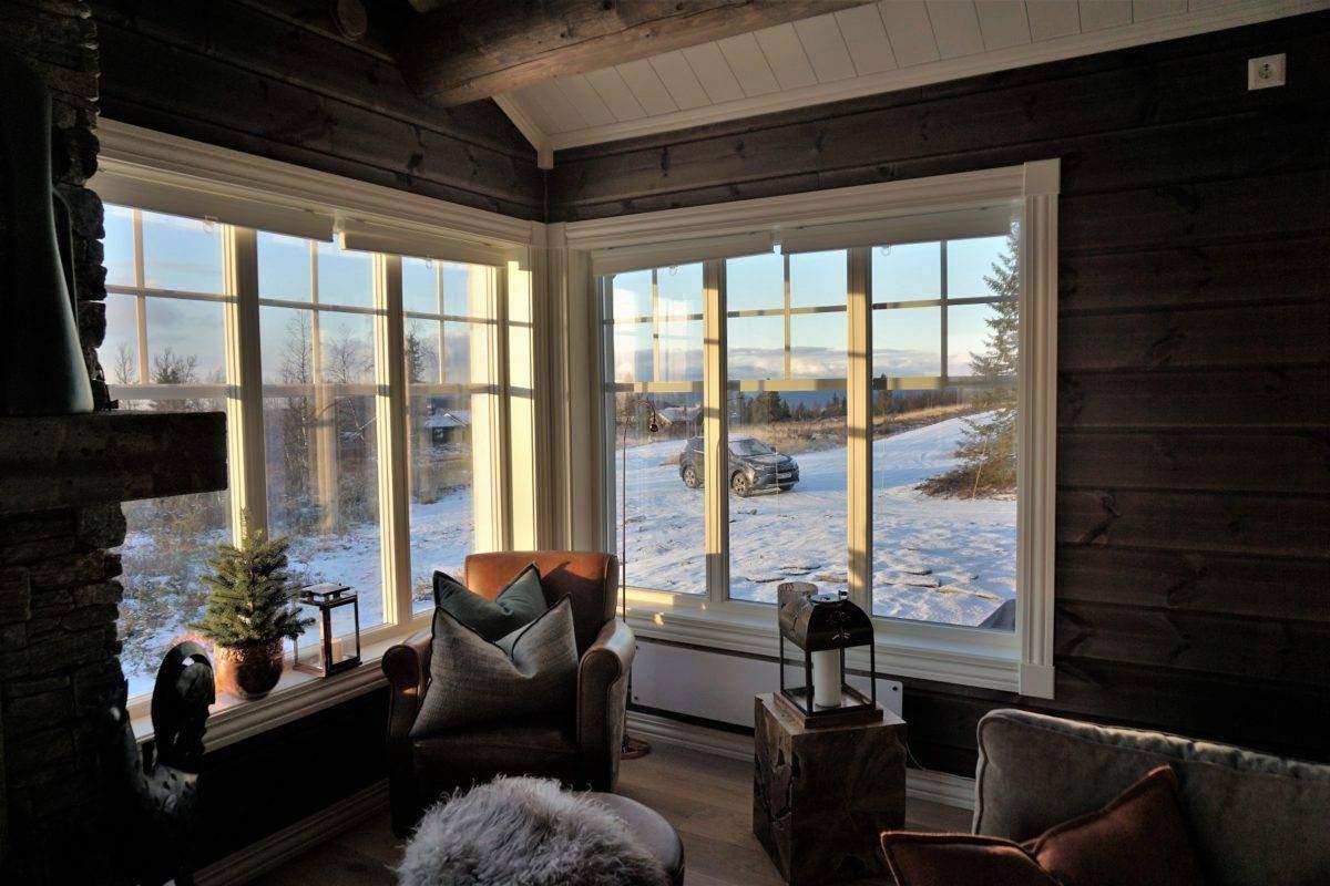 56 Hyttemodell Hytte Hemsedal 120 Stue