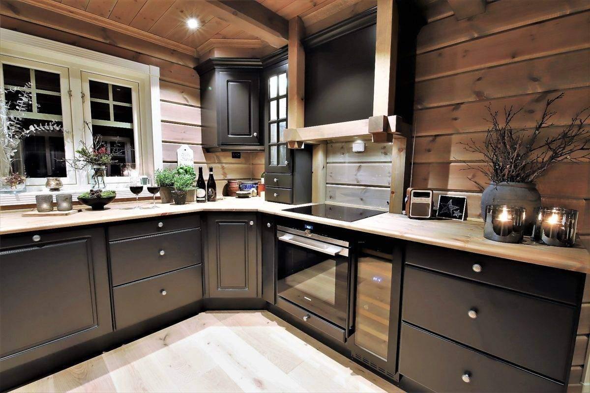 64 Hyttemodell Trysil 110B – Kjøkkenet