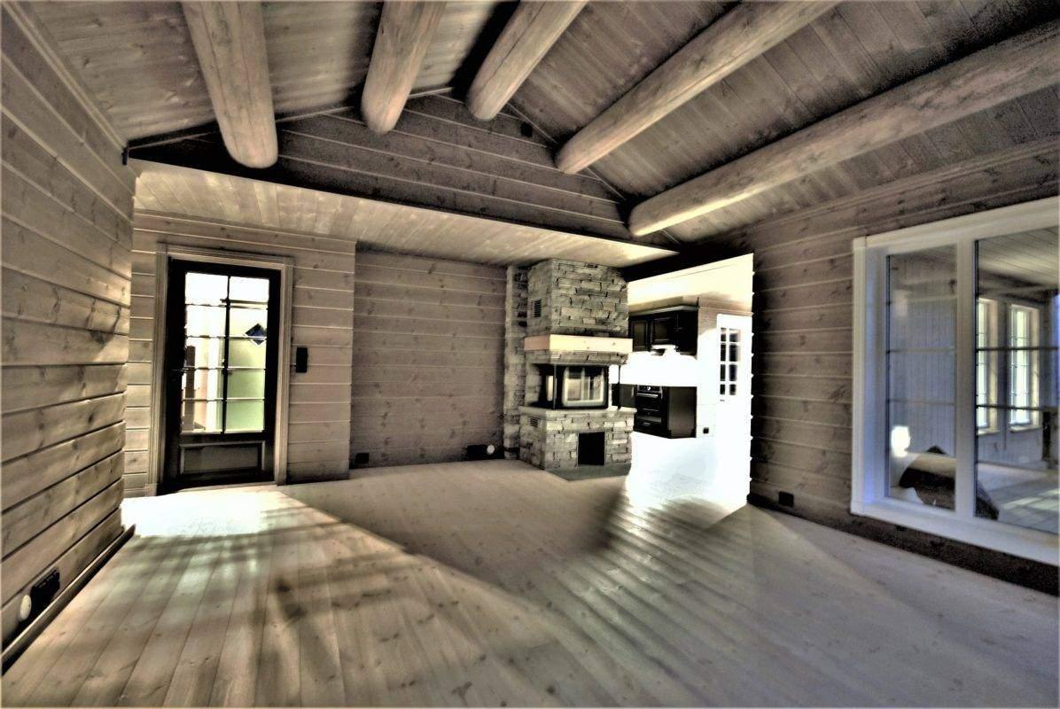 66 Hyttemodell Hytte Stryn 101 Oppdal – flere vinkler , former , høyder og rustikke takåser gir hytta personlighet