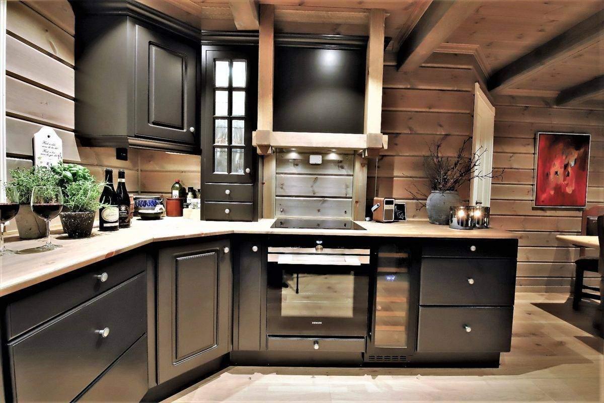 66 Hyttemodell Trysil 110B – Kjøkkenet