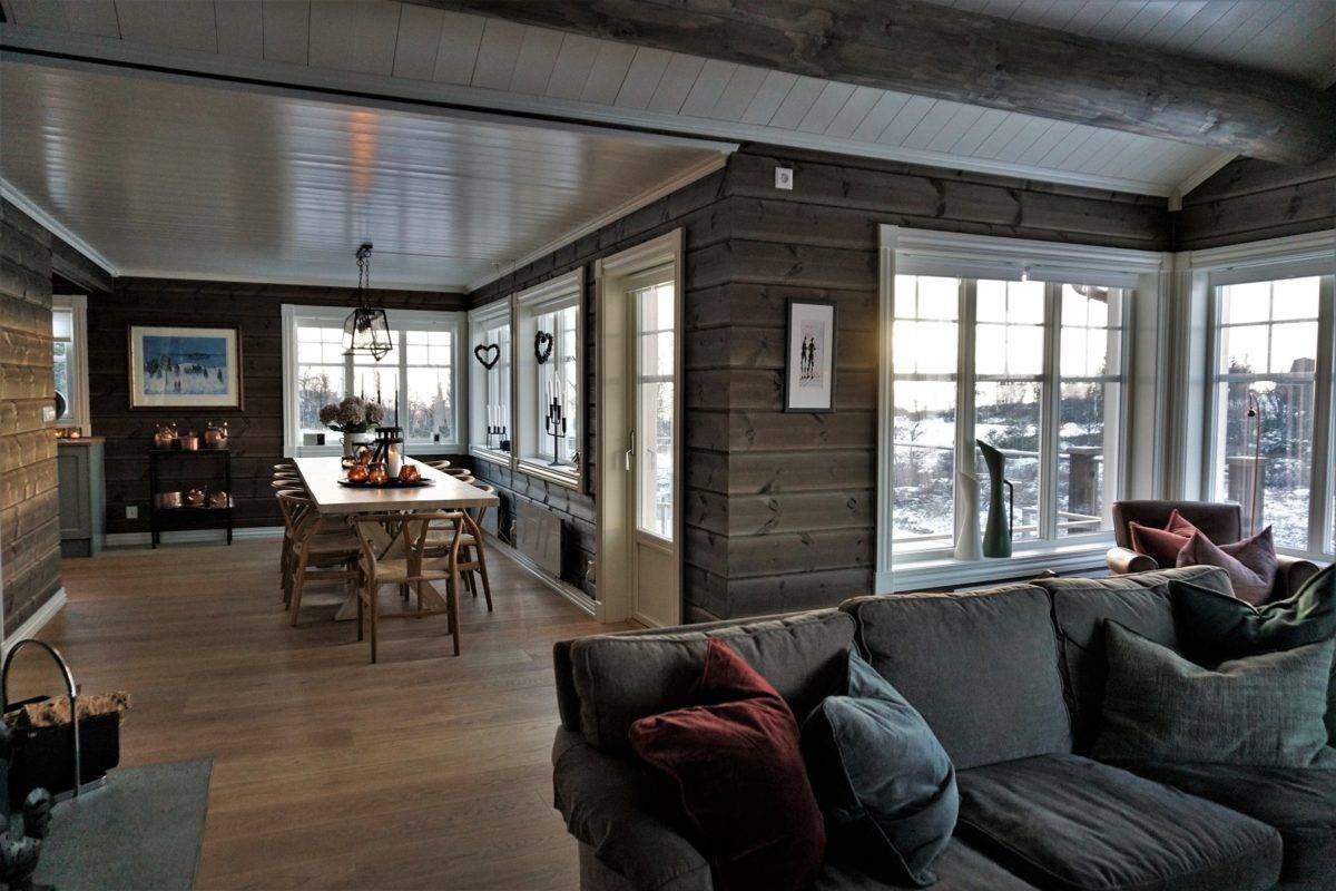 70 Hyttemodell Hytte Hemsedal 120 Stue