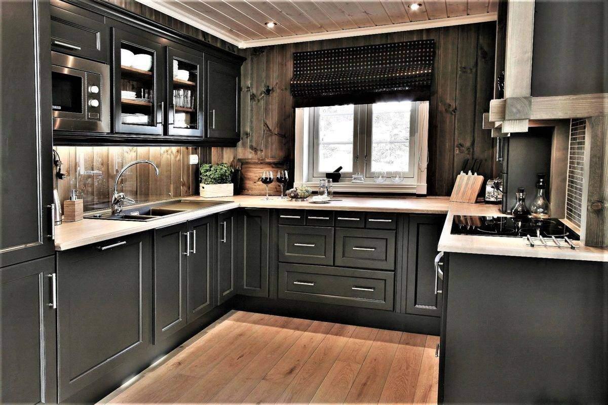 88 Kjøkken med funksjonell planløsning