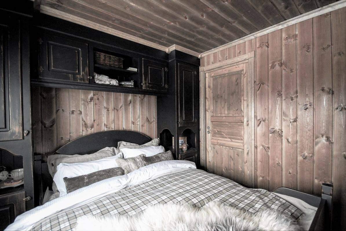 90 Hyttemodell Hytte Stryn 97 Soverom 1 med dør til eget bad