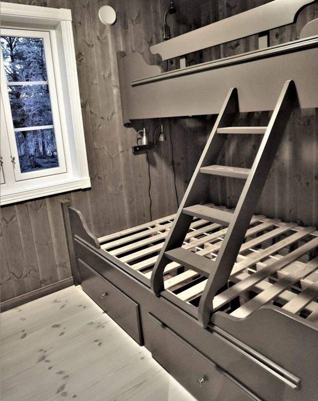 98 Hyttemodell Hytte Stryn 101 Oppdal – Soverom 2