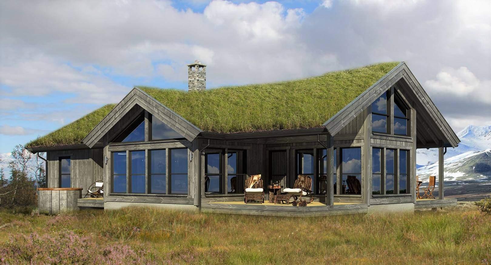 01 Hyttemodell Strynsfjell 120