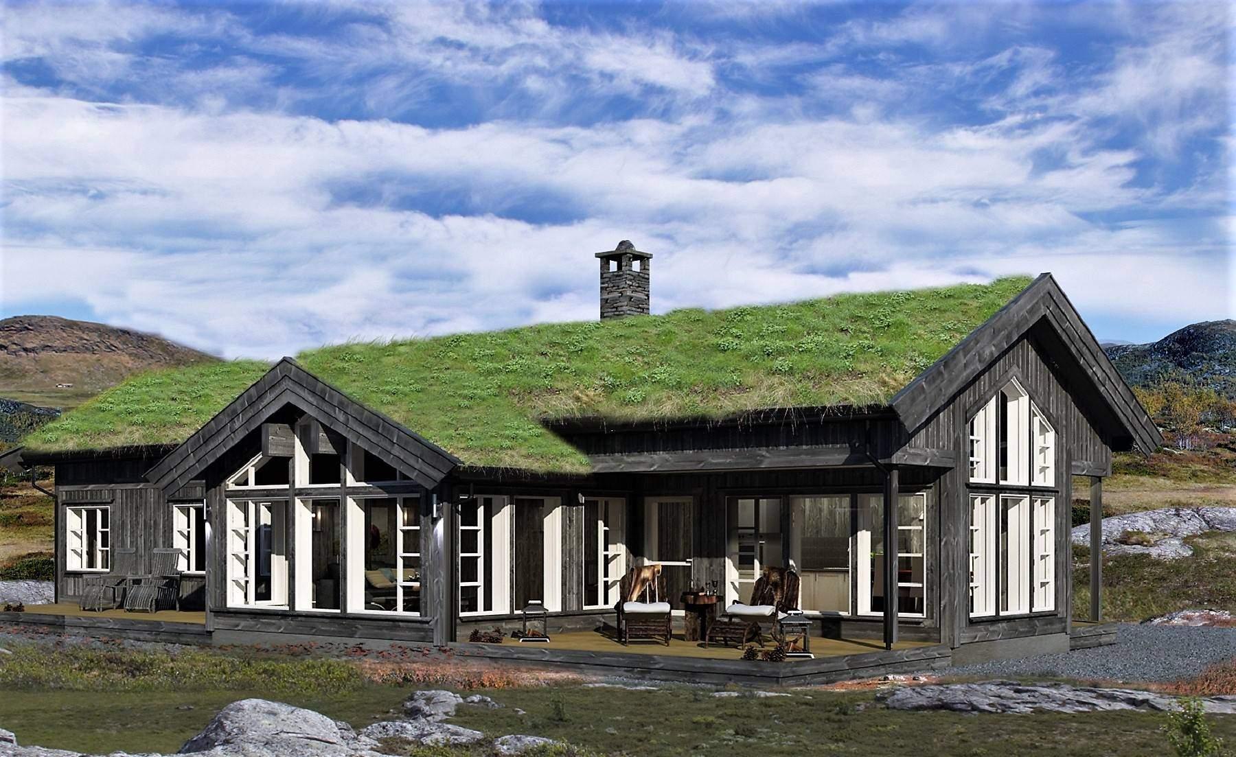 10 Hyttemodell Strynsfjell 122